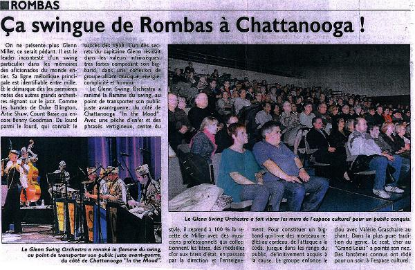 evenement de jazz rombas
