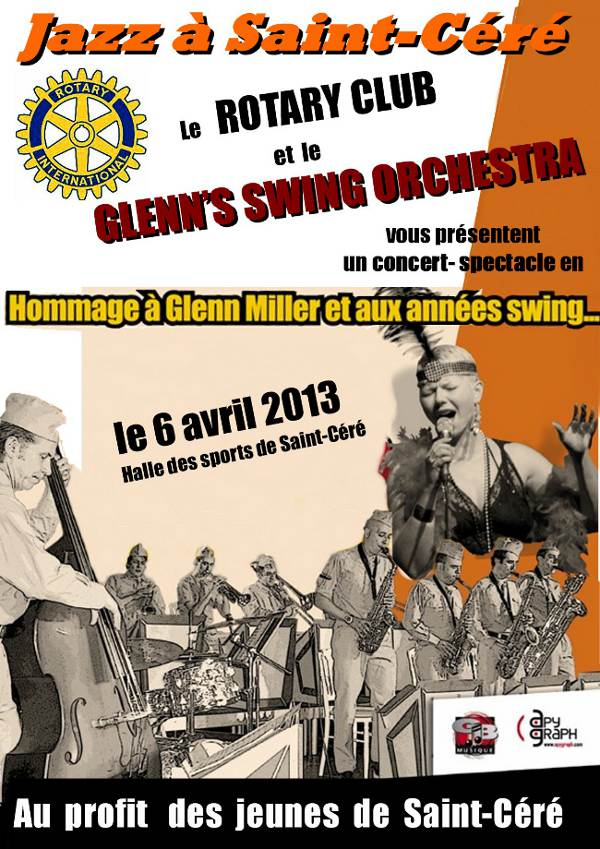 Rotary Club Affiche concert
