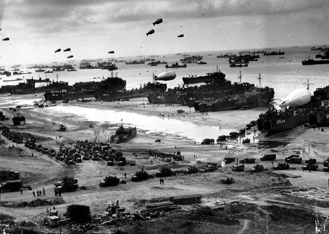 Débarquement Invasion-normandie-juin-1944