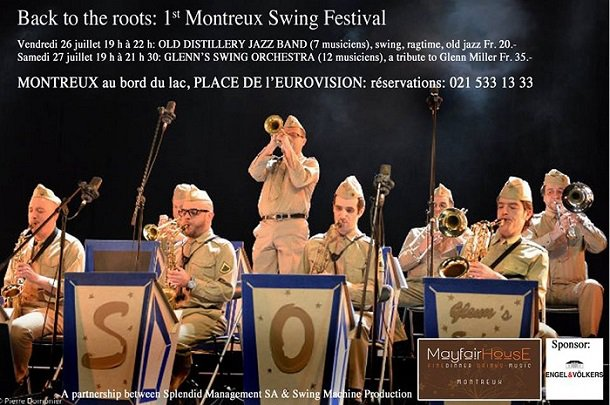 Back to the roots: Montreux swing festival