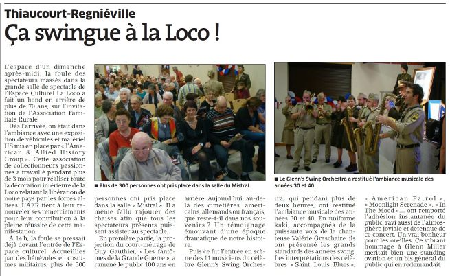ca swingue a la loco article de presse concert thiaucourt